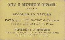 France Sans valeur Carcassonne Bon pour une ration de légumes et de pain