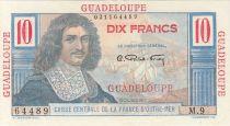 Guadeloupe 10 Francs Colbert - 1946 Série M.9