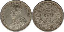 Inde 1 Rupee Georges V Roi et Empereur - 1918