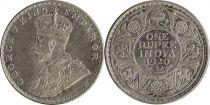 Inde 1 Rupee Georges V Roi et Empereur - 1920