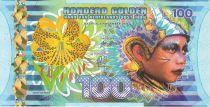 Indes Néerlandaises Indes Néerlandaises 100 Gulden, Enfant - Voilier - 2016