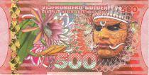 Indes Néerlandaises Indes Néerlandaises 500 Gulden, Guerrier - Voilier - 2016