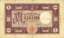 Italie 1000 Lire Ornement