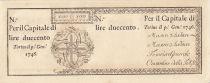 Italie 200 Lire Régie Finanze-Torino - 1746 remainder