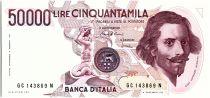 Italie 50000 Lire G.L. Bernini - 1984