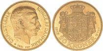 KM.817.1 20 Kroner, Christian X - Armoiries 1915