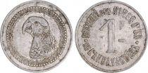 Madagascar 1 Franc, Perroquet - Mines d\'Or d\'Andavakoera - 1920