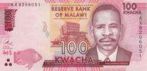 Malawi 100 Kwacha James Frederick Sangala - 2016