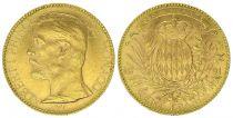 Monaco 100 Francs Albert I - Armoiries 1891 A Paris