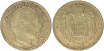 Monaco 100 Francs Charles III - 1884 A