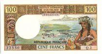 Nouvelle Calédonie 100 Francs Tahitienne - 1973 Série Q2