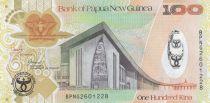 Papouasie-Nouvelle-Guinée 100 Kina Parlement - 35 ans de la Banque Centrale - Série BPNG - 2008