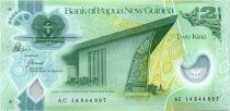 Papouasie-Nouvelle-Guinée 2 Kina Parlement - Artisanat - Polymer - 2008 (2014)