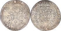Pays-Bas Espagnol 1/4 Patagon Armoiries - Anvers 1645