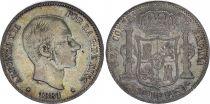 Philippines 50 Centimos Alphonse XII - 1881