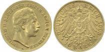 Prusse 10 Mark Wilhelm II - Aigle Impériale 1903 A Berlin