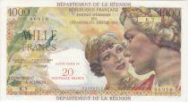 Réunion 1000 Francs Union Française - 1967 Série K.2 - 06910