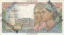 Réunion 500 Francs Pointe-À-Pitre - 1946 Spécimen O.000