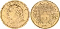 Suisse 20 Francs Vreneli 1927 - B