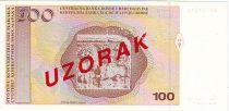Bosnia-Herzegovina 100 Convertible Maraka - N. Sop - 1998