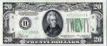 Vereinigte Staaten von Amerika 20 Dollars Jackson - 1934 St louis