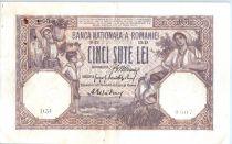 Romania 500 Lei Woman, Child - 1918