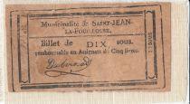 Francia Saint-Jean-La-Fouillose City - 1792 - False note ?