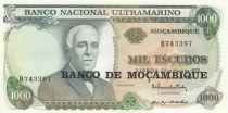 Mozambique 1000 Escudos Gago Countinho - 1976