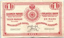 1 Markkaa Rouge - 1915 (2em)