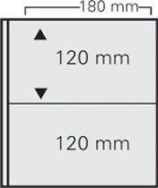 10 feuilles billet à 2 poches 180 x 120 mm pour Art-Line et Louis