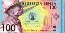 100 Senza 2016 - Banca d\'Sima Senco Polymer Fantaisie