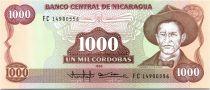 1000 Cordobas General A. C. Sandino - 1985 (1988)