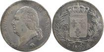 5 Francs Louis XVIII Buste nu - 1820 A