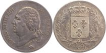 5 Francs Louis XVIII King of France - 1822 W Lille