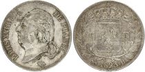 5 Francs Louis XVIII King of France - 1823 B ouen