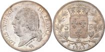 5 Francs Louis XVIII King of France - 1824 A 2 sd ex
