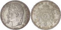 5 Francs Napoléon III - Tête laurée 1869 BB Strasbourg