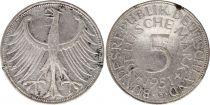 5 Mark 1951G - Eagle - Silver