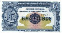 5 Pounds ND1948 - Bleu - Série EE/1