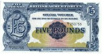 5 Pounds ND1948 - Bleu - Série EE/1