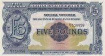 5 Pounds ND1948 - Blue