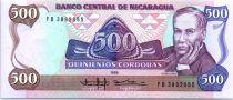 500 Cordobas Ruben Dario - 1985 (1988)
