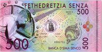 500 Senza 2016 - Banca d\'Sima Senco Polymer Fantaisie