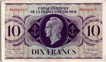 AEF 10 Francs 1944 - Marianne , croix de Lorraine - FH488.813