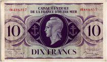 AEF 10 Francs 1944 - Marianne , croix de Lorraine - FH488.817