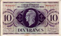 AEF 10 Francs 1944 - Marianne , croix de Lorraine - FH488.819