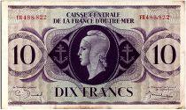 AEF 10 Francs 1944 - Marianne , croix de Lorraine - FH488.822