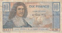 AEF 10 Francs Colbert - 1947 Serial O.36 - VF - P.21