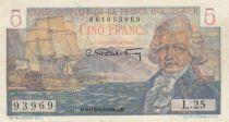 AEF 5 Francs Bougainville - 1947 Série O.26-75933