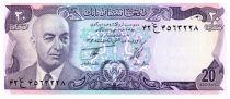 Afganistán 20 Afghanis Pres. Muhammad Daud - Canal - 1977